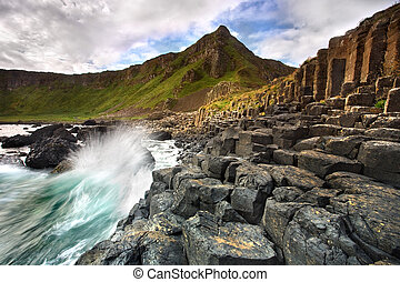 Giants Causeway, Co Antrim.