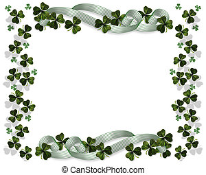 St Pattys Day Border