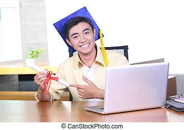 Online training course - graduation - Online training course...