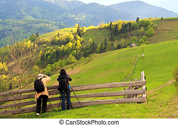 Landscape photography in Carpathians - Photographers take...