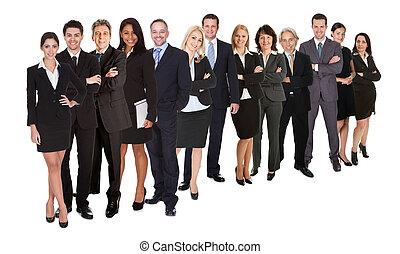 Grupo, negócio, pessoas