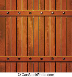 Wooden texture. Vector eps10