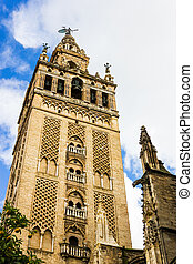 Giralda - 'La Giralda' Bell Tower of Seville...