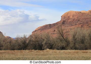 Moab Utah - Taken from RV park in Moab Utah