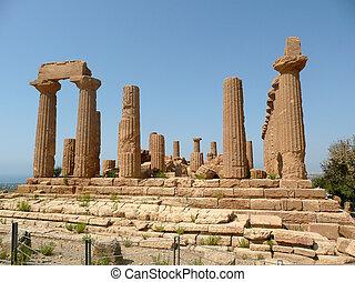 Temple of Juno Lacinia, Agrigento, Italy