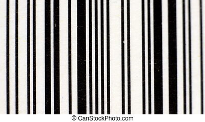 stop motion of differnet images of barcodes sequenced together to make abstract patterns