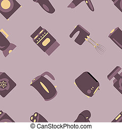 household seamless pattern