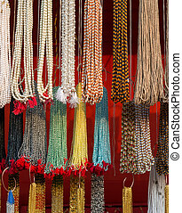 Beads at the open market