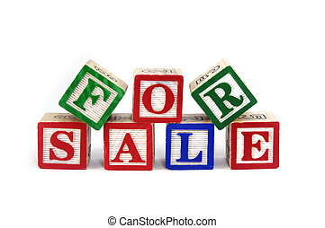 For sale - Building blocks spelling for sale