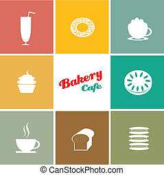 bakery cafe background designs