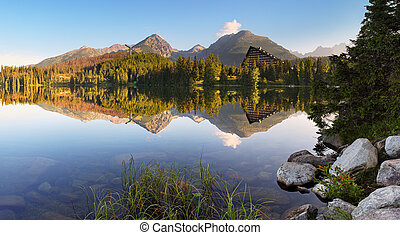 Mountain lake - Strbske pleso
