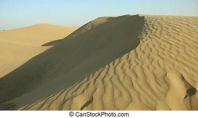 Sand dune. - Sand dune in the Thar desert