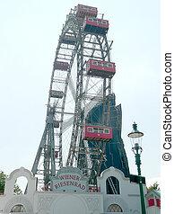 Wiener Riesenrad, Vienna Ferris Wheel, Austria