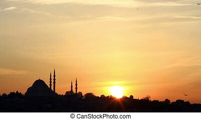 Suleymaniye at sunset