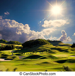 Simply golf image for adv or others purpose ues