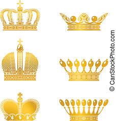 Set of Crowns, vector