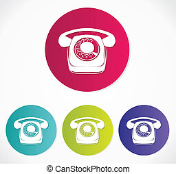 Old phone icons