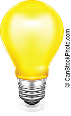 Light bulb, icon