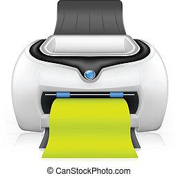 Printer, vector
