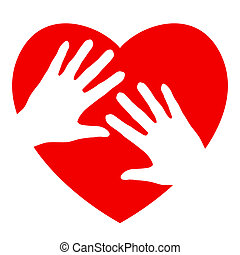 Hands and heart