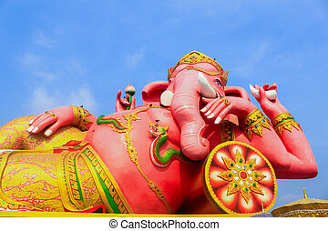 God Ganesh statue,One of most supreme god in Indian culture