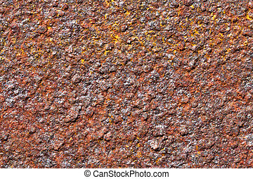 Texture red stripe rust in high definition - Red with yellow...