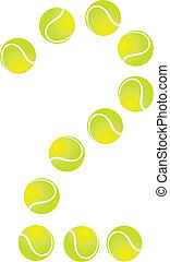 Tennis Ball Number 2 - Tennis Ball Concept Number 2