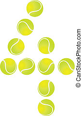 Tennis Ball Number 4 - Tennis Ball Concept Number 4