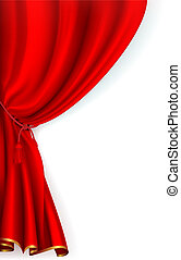Red Curtain, vector