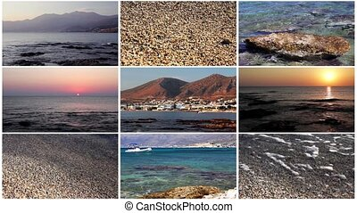 Collage - Sea collage