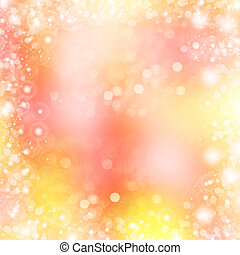 Abstract Beautiful Background With Bokeh