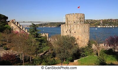 Rumeli Hisari, Istanbul - Rumeli Fortress, Bosphorus in the...