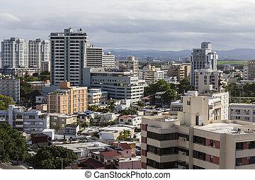 Downtown San Juan Puerto Rico