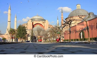 Hagia Sophia is the famous historical building of Istanbul...