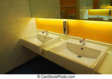 Wash ware between public health - The warm light of public...