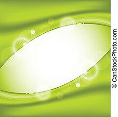 Eco nature background, design template