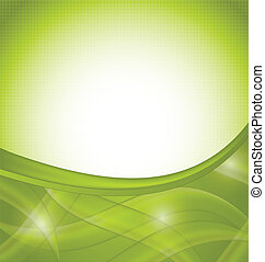 Green nature background, design template