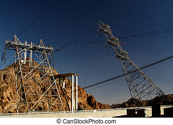 Hoover Dams Power Lines