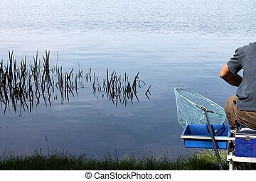 fishing on the lake