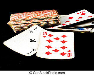 playing cards composinion