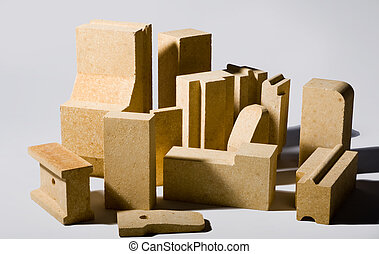firebrick - Photo in the production of refractory bricks for...