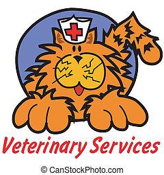 Cat Veterinary Veterinarian Clipart