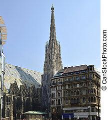 austria, vienna - Vienna, Austria, gothic cathedral...