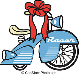 Bike Trike Tricycle Toy Clip Art