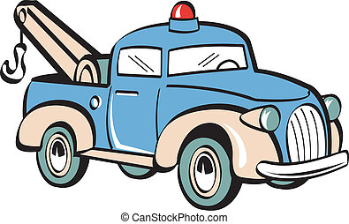 Tow Truck Towing Truck Clip Art - Tow truck or towing truck...