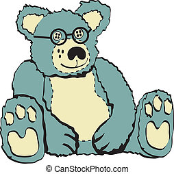 Teddy Bear Stuffed Animal Clip Art - Teddy bear or stuffed...
