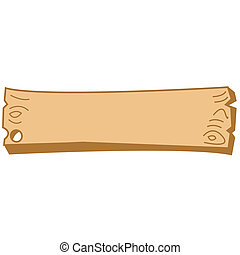 Western Wooden Sign Border Clip Art