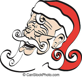 Santa Claus St. Nick Clip Art - Santa Claus, Santa Clause or...