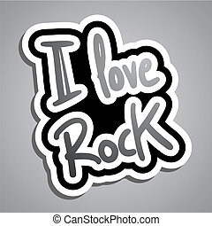 Love rock - Creative design of love rock