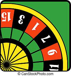 Poker Gambling Roulette Table
